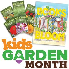 Announcing #KidsGardenMonth #giveaway week 3! Like us on Facebook to find out how to win!