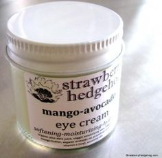 mango-avocado eye cream #vegan #crueltyfree