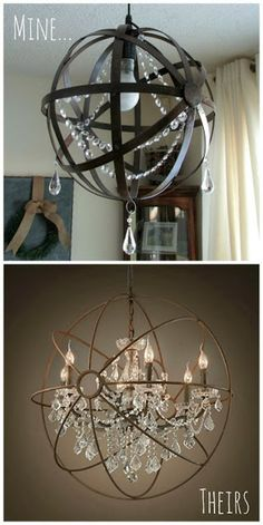 Made for only 10riouslyd im running out to get some catch as catch can 147 orb chandelierproject ideasdiy aloadofball Images