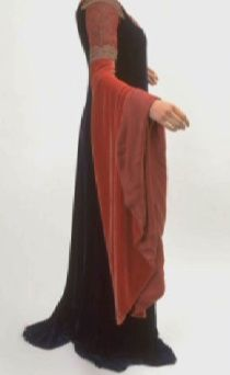 Arwen's Blood Red Outfit