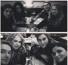 Chris Wood, Penelope Mitchell, Jodi Lyn O'Keefe & Chris Brochu