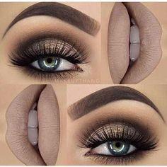 Labios y ojos