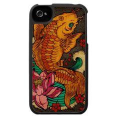 Japanese Koi iPhone Case from Zazzle.com