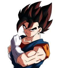 Gogeta And Vegito, Pokemon, Goku And Vegeta, Manga, Dragon Ball Z, Anime, Hero, Draw, Super Saiyan