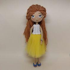 Вот еще фото без жакета#кукла #куклыручнойработы #куклакрючком #амигуруми #вяжутнетолькобабушки #вязанаякукла #crochetdolls #weamiguru #handmadedolls  #ижевск