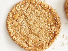 orange sesame and honey cookies
