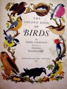 Znalezione obrazy dla zapytania the golden book of birds feodor rojankovsky