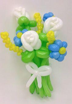 balloon flower bouquet