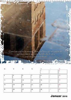 Kalender - Christliche Monatssprüche - Jänner