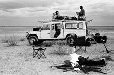 """van-life: """"Land Rover Defender 110  130 Botswana, 2012 """""""