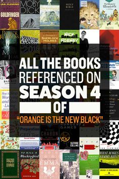 Here Are All The Books Referenced On Season 4 Of \
