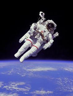Astronaut~I wanted to be one so badly when I was a child and still do, if I'm totally honest; however, I get sick on anything that spins faster than a carousel, I'm claustrophobic, I hate flying and I'm not very good with heights either...ah well.