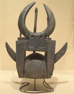 HELMET MASK culture Tusian people creation date 20th century