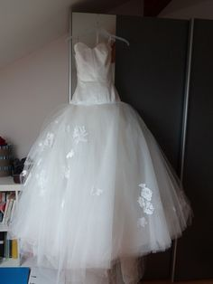 Robe de mariée ivoire cymbeline tulle