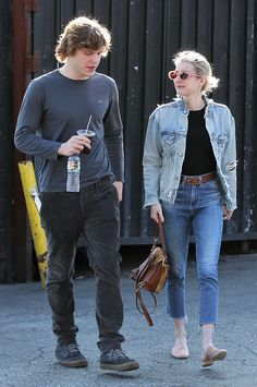 Evan Peters & Emma Roberts from The Big Picture: Today's Hot Photos  Must be love! The happy couple is spotted out for lunch in Los Feliz.