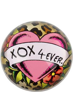 XOX 4 EVER PAPERWEIGHT: spread the love wherever we can