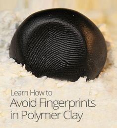 In this lesson, Cindy Lietz provides a few tips and tricks for avoiding smudgy surfaces on your polymer clay. Polymer Clay Ring, Polymer Clay Tools, Polymer Clay Flowers, Polymer Clay Miniatures, Polymer Clay Projects, Polymer Clay Creations, Diy Clay, Clay Food, Clay Design