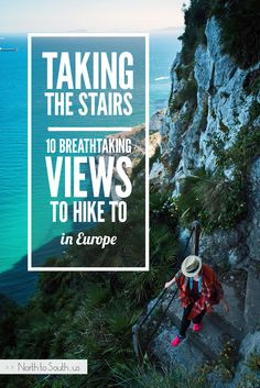 Taking the Stairs: 10 Breathtaking Views to Hike to in Europe Take The Stairs, Adventure Is Out There, Travel Quotes, Time Travel, Travel Style, Trip Planning, Travel Destinations, Globe, Bucket