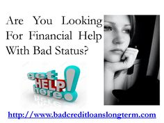 Bad Credit Loans Long Term Instant Relief From All Worries