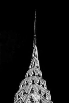 New York Print Chrysler Building NYC Wall by CrystalOrbitStudios