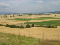 Os campos de cultivo na região de Vitória, província de Álava, Comunidade Autônoma do País Basco, Espanha.  Fotografia: Asier Sarasua Garmendia.