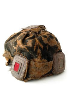 Africa | Hat with amulets, Ghana
