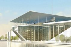 Renzo Piano Cultural Center  #architecture #Piano #Renzo Pinned by www.modlar.com