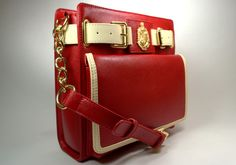 1913 Uptown Crossbody (crimson)