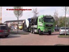 MAN Schwertransporter mit Kleemann Backenbrecher Siebanlage Duisburg Rhe...