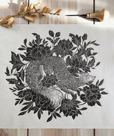 The original linocut print. Each print has sign, date and number, carved and printed by hand. Dark Art Illustrations, Linoprint, Encaustic Painting, Chalk Pastels, Aboriginal Art, Textile Artists, Linocut Prints, Gravure, Woodblock Print