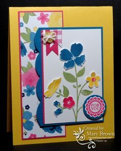 TSSC266 Wildflower Meadow by stampercamper - Cards and Paper Crafts at Splitcoaststampers