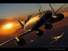 Me-262 Night fighter by ~Oxygino on deviantART