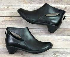 8f5b0dc7d8f Dansko Bonita Black Burnished Nappa Leather Ankle Boots 39 8.5-9