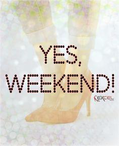 YES, WEEKEND! ✌