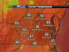 Sept 5: State Temps
