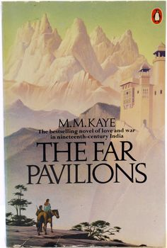 Fiction in Fashion display: The Far Pavillions by M.M. Kaye  One of my all-time favorites!
