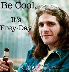 Glenn Frey was one cool cat! Eagles Music, Eagles Band, Glen Frey, Rip Glenn, Country Rock Bands, Bernie Leadon, Song Words, Hotel California, Rock Legends