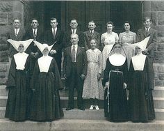 Sister Denise joined the Daughters of Charity in October 1929. Description from daughtersofcharity.org. I searched for this on bing.com/images
