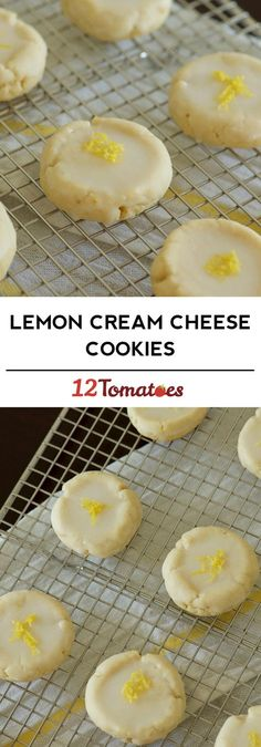 Lemon Cream Cheese Cookies These cookies will always make me think of my late Aunt. Notorious for making lemon cookies every year! Lemon Desserts, Lemon Recipes, Cookie Desserts, Just Desserts, Sweet Recipes, Baking Recipes, Cookie Recipes, Delicious Desserts, Dessert Recipes