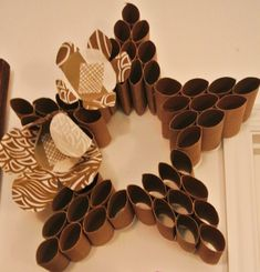 Toilet Paper Roll Crafts - Get creative! These toilet paper roll crafts are a great way to reuse these often forgotten paper products. You can use toilet paper rolls for anything! creative DIY toilet paper roll crafts are fun and easy to make. Toilet Paper Roll Art, Toilet Paper Roll Crafts, Cardboard Crafts, Diy Paper, Paper Crafting, Cardboard Rolls, Tissue Roll Crafts, Paper Towel Roll Crafts, Paper Towel Rolls