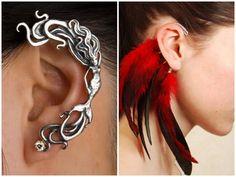 Meu delineador aliado: Ear cuff você usaria?