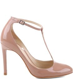 Scarpin Mary Jane in Toasted Nude Shoes, Shoes Heels, High Heels, Fashion Heels, Women's Fashion, Shoe Show, Prom Shoes, Lace Up Heels, Beautiful Shoes