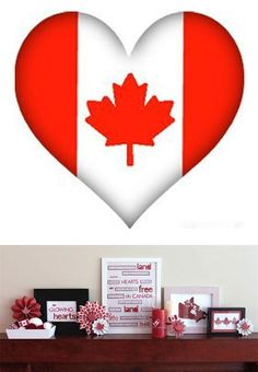 Canada Day is a wonderful opportunity to show your hometown spirit with red and white patriotic home decor items and crafts Canada Day Crafts, Canada Day Party, Canada Holiday, Remembrance Day, Red Paint, White Houses, White Decor, Home Decor Items, Decorating Ideas