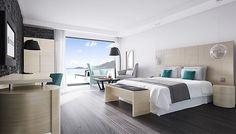 Mobilier chambre d'hôtel - CHAMBRE TULIDO | POITOUX