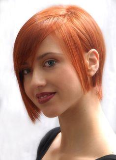 Bakır tonları - kısa saç ( copper )