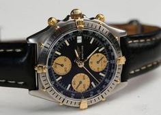 Breitling Chronomat 81 950 watches steel with 18K GOLD... #Breitling