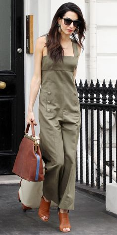 The 23 Best Celebrity Street Style Looks of 2015 - Amal Clooney - from InStyle.com