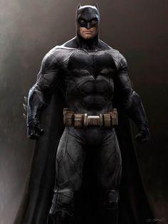 Imagen de arte conceptual de Batman Vs Superman