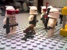 LEGO Star Wars Stopmotion / Brickfilm - Delta Squad - (HD)