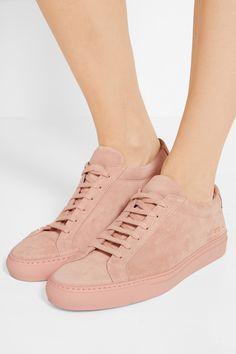 Common Projects | Original Achilles suede sneakers | NET-A-PORTER.COM